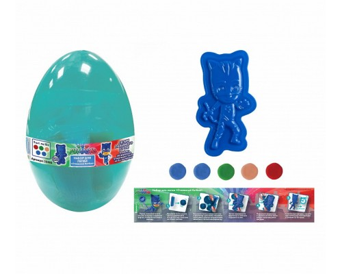 Набор для лепки Отважный Кэтбой PJ Masks, яйцо