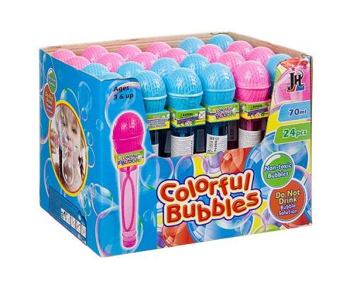 Мыльные пузыри радужные микрофон 70 мл 306