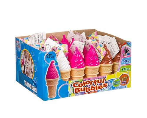 Мыльные пузыри радужные мороженое 40 мл 310