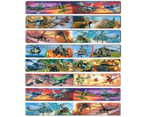 Закладки магнитные Военная техника (цена за 1 штуку)