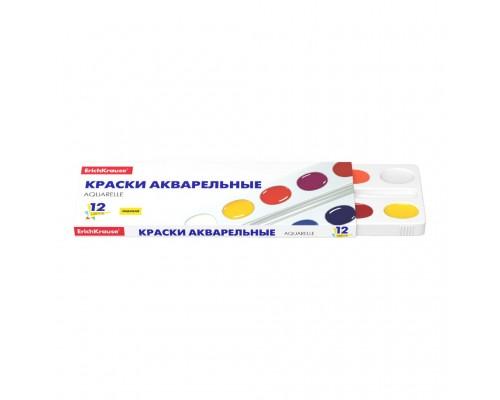 Краски акварельные 12 цветов ErichKrause Basic медовая