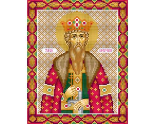 "Алмазная мозаика ""Икона Святого князя Вячеслава Чешского"" 27"