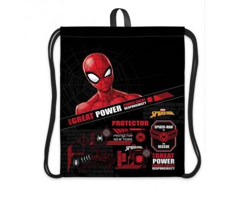 Мешок для обуви Hatber 1 отделение Человек-паук для мальчика