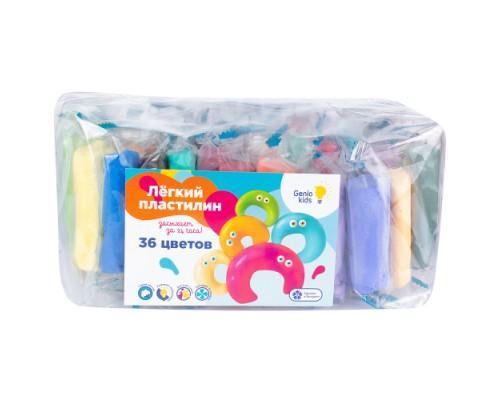 Набор для детской лепки Лёгкий пластилин 36 цветов TA1722